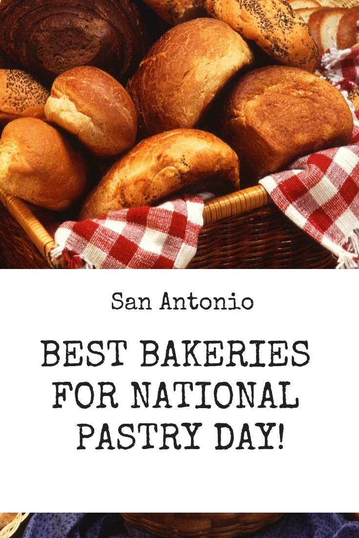 This Sunday, December 9th is National Pastry Day. Whether it's a blueberry scone, cherry danish or buttery croissant, there is a pastry for everyone. Enjoy these culinary masterpieces at our favorite bakeries in the San Antonio this weekend.
