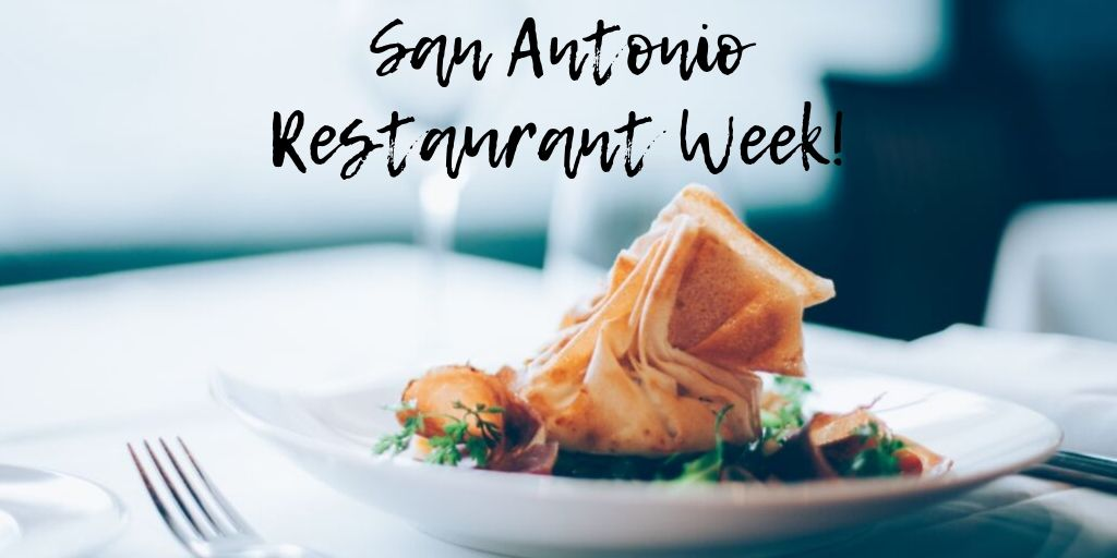 San Antonio Restaurant Week (better known as Culinaria) is an event where restaurants across the city offer special pre-fixed menus for lunch and dinner.