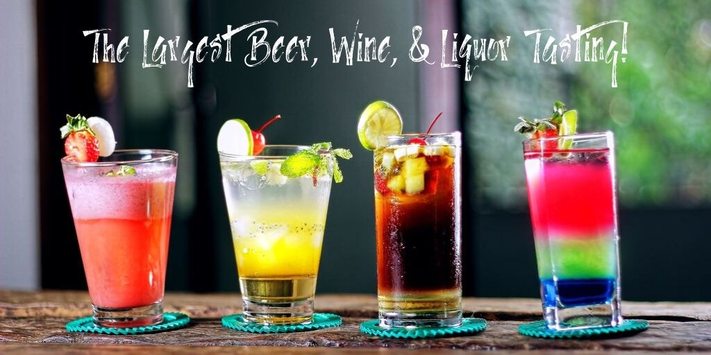 If you like beer, wine, or liquor you won't want to miss this event! It's the largest tasting festival in the world and it happens right here in San Antonio!